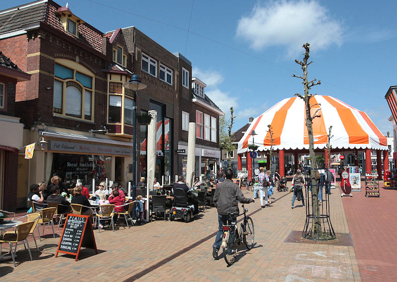 ποδηλατικό ταξίδι στην Ολλανδία