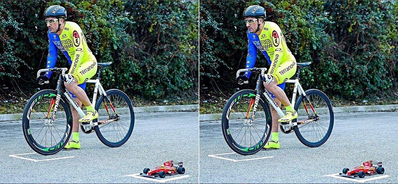 Ποδηλάτης εναντίον τηλεκατευθυνόμενου