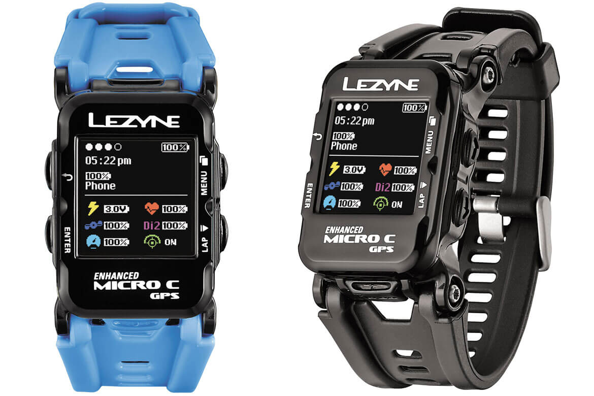 lezyne enhanced micro c gps watch