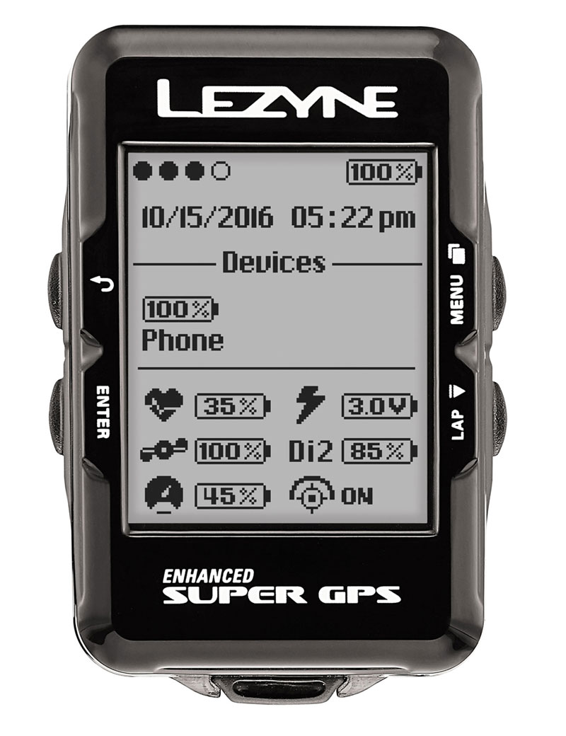 Lezyne Enhanced Super GPS