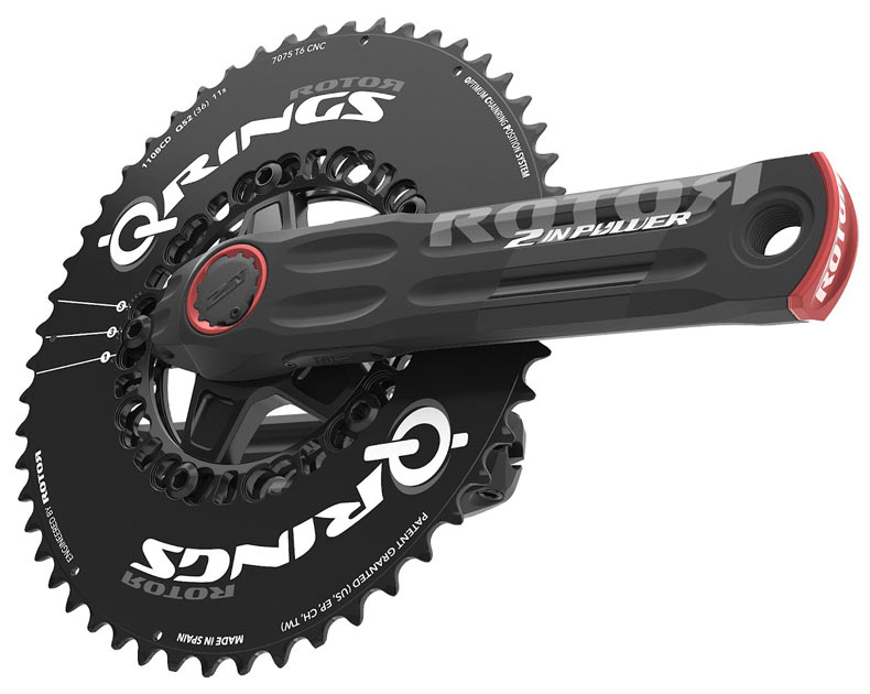 Νέο powermeter 2INpower από τη Rotor
