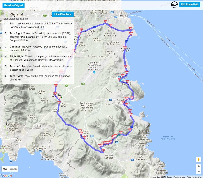 Νέα δυνατότητα στο Lezyne GPS Root: σχεδίαση διαδρομών