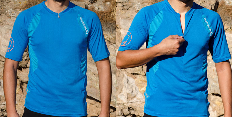 Endura Singletrack Lite Jersey & Wicking T